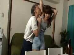 the dad has seen a his allys daughters fuck