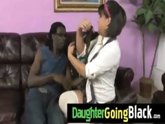 hot daughter dick engulf and interracial fuck 9