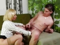 mature golden-haired wet crack rub and sucks