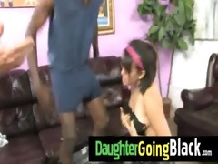 watch my daughter taking a hard darksome ramrod 0