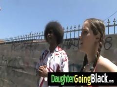 watch my daughter taking a hard dark pounder 4