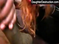 juvenile legal age teenager daughter fuck