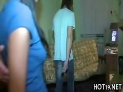 hotty pounded on camera