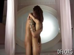 virgin explores shlong & cum