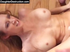 youthful daughter humiliation