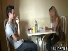 stranger copulates glamorous hotty