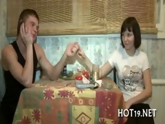 cute hotty acquires group-fucked