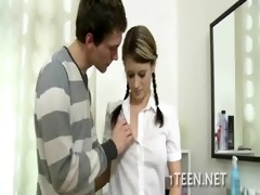 soaked legal age teenager screwed nice