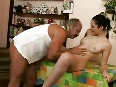 unsightly grandpapa fucking with gorgeous legal