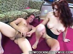 housewife scarlet jock spooned