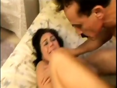 dad pumping daughters ass