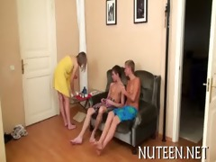 enjoyable teen giving a oral-service joy