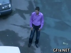guy sits and stares