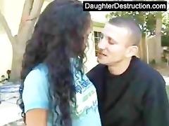 juvenile daughter abased