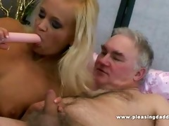 youthful bitch pleases her sugardaddy with her