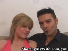 obscene wife bonks hard with recent lad